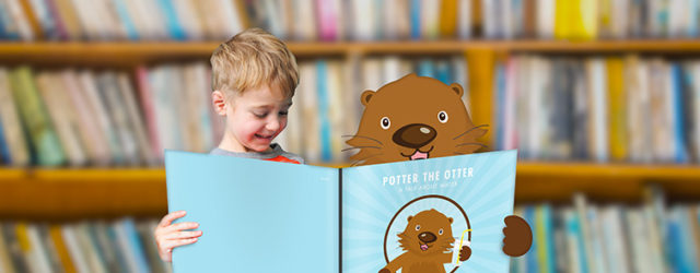 Potter the Otter book